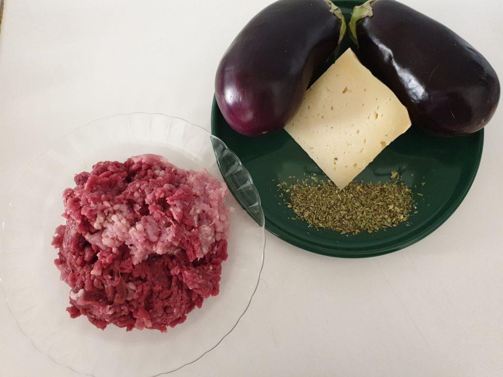 Ingredientes berenjenas rellenas